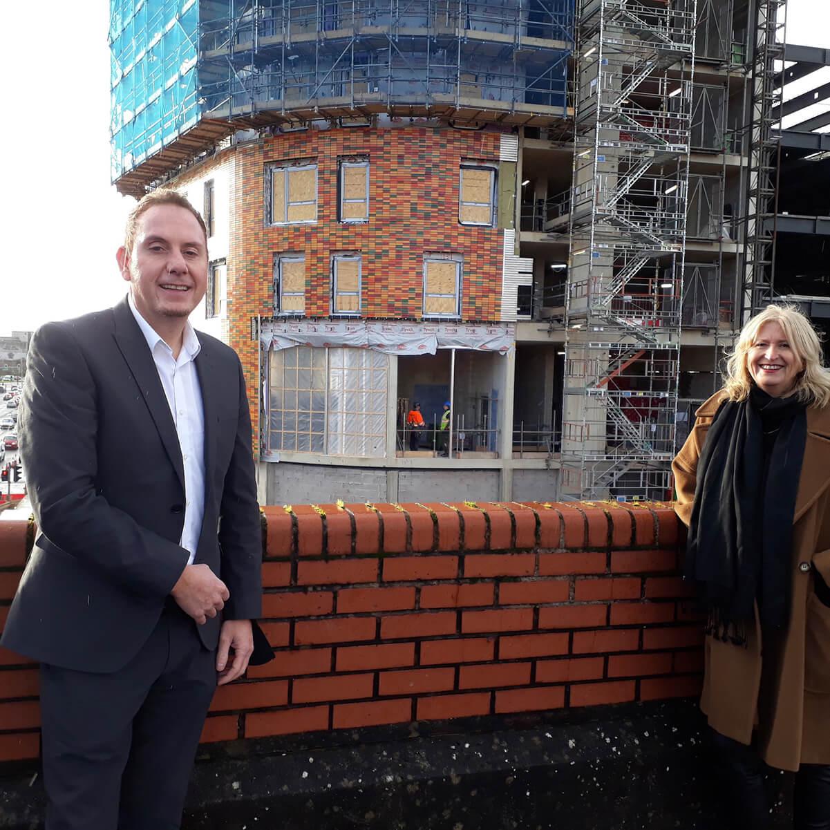 Rob Stewart and Amanda Davies