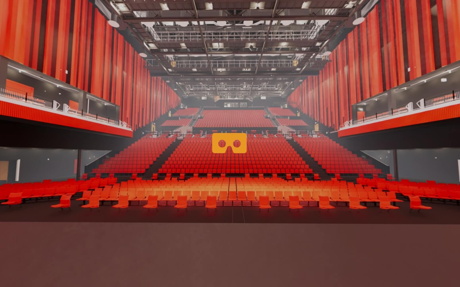 360 view from stage
