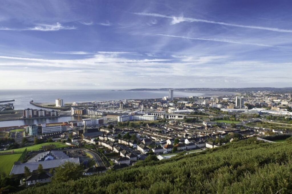 View of Swansea